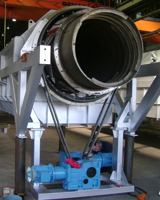 indirect rotary calciners