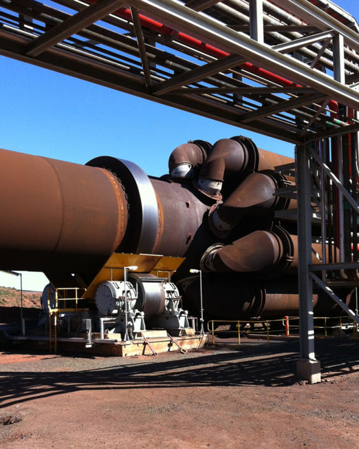 direct fired rotary kiln